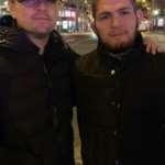 Леонардо ДиКаприо встретился с Хабибом Нурмагомедовым