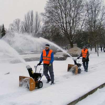 Договор об оказании услуг по уборке снега