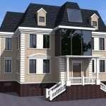 Популярные виды фасадного декора для загородных домов