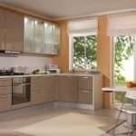 Угловой кухонный гарнитур – лучшее решение для небольших помещений