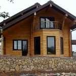 Тонкости строительства домов из профилированного бруса