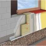 Технология утепления фасадов пенопластом: цели и выбор материала