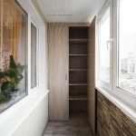 Распашные шкафы для балконов и лоджий