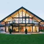 Дома фахверк — отсутствие усадки вкупе с разнообразной планировкой