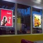 Рекламные световые панели с подсветкой: где ставить?