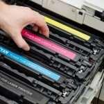 Заправка черно-белого лазерного принтера