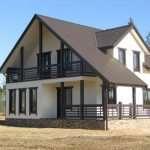 Проекты каркасных домов и их разновидности