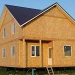Теплые дома из СИП-панелей – разновидности