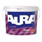 Универсальная краска для фасада Aura Fasad Expo