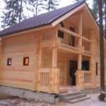 Особенности строительства домов из бруса профилированного