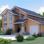 Дом из клееного бруса — экологичность и дизайн