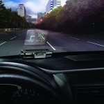 Проекционный дисплей в автомобиле — принцип работы